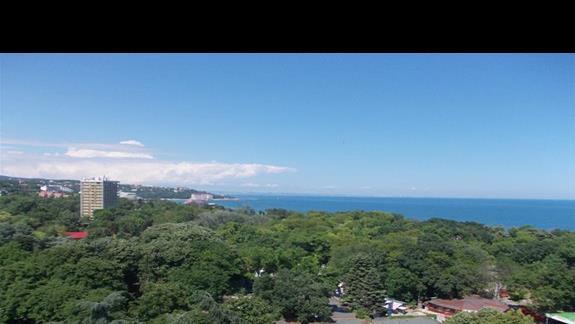 Grand Hotel Varna widok z okna