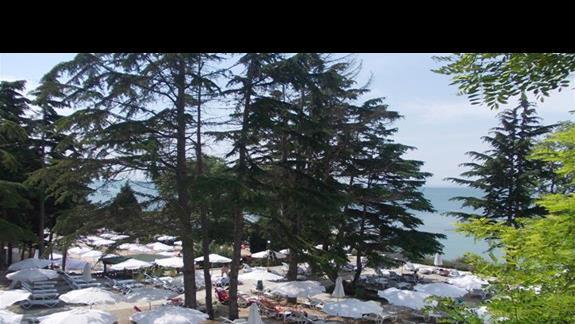 Sol Nessebar Palace droga na plaze