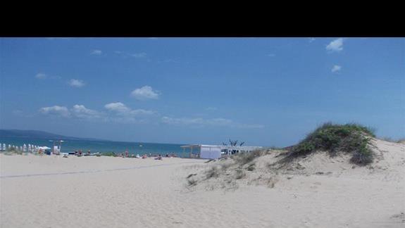 Zefir Beach wejscie na plaze