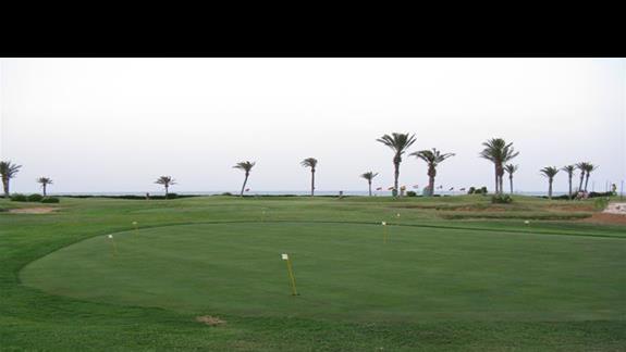 Na polu golfowym