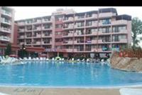 Hotel Izola Paradise - basen, z widokiem na budynki hotelu