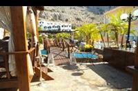 Hotel Coralli Beach - widok na studia z restauracji