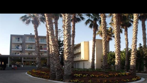 budynek glówny hotelu