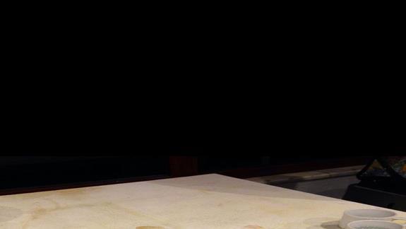 stolik z kawa w glównej restauracji (podczas kolacji)