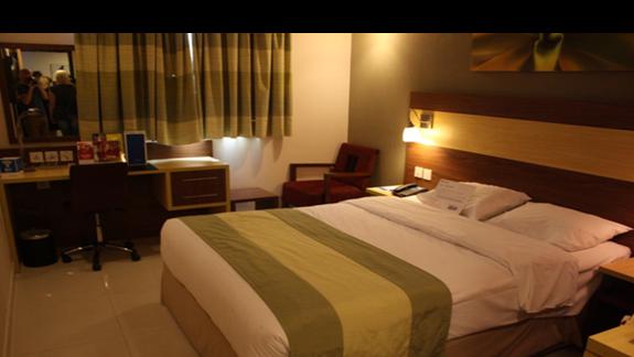 pokój w hotelu city max
