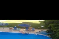Hotel Castro - zacieniony do południa basen