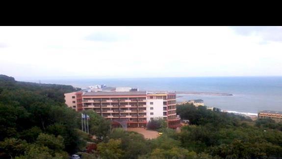 Widok z pokoju hotelu Edelweiss