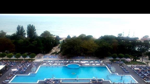 Strefa basenowa Melia Grand Hermitage