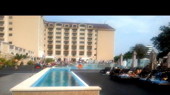 Teren hotelu Melia Grand Hermitage