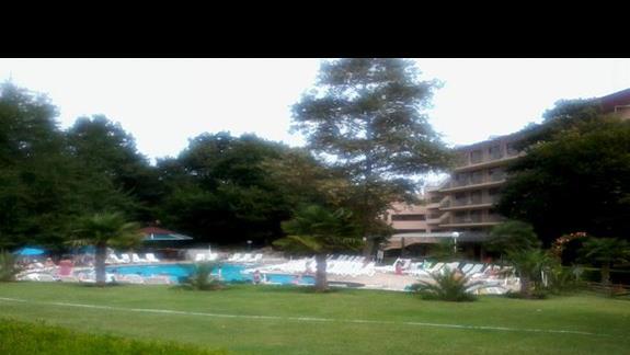 Teren hotelu Primasol Sunrise