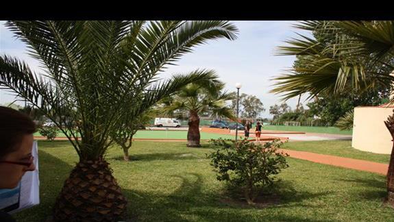 teren hotelowy Holiday Garden