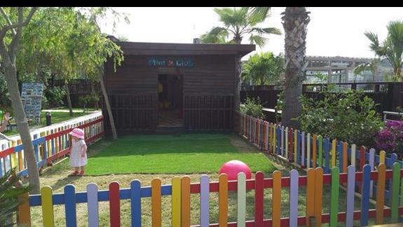 Delta Beach Resort plac zabaw