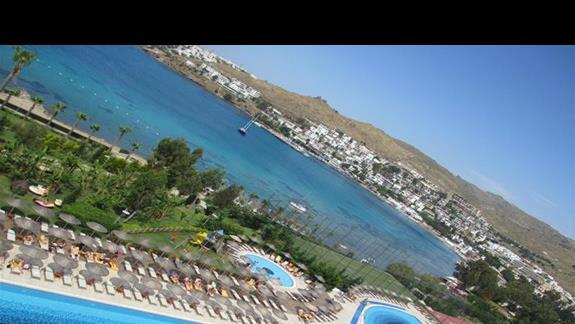 Kefaluka Resort baseny ze zjezdzalniami