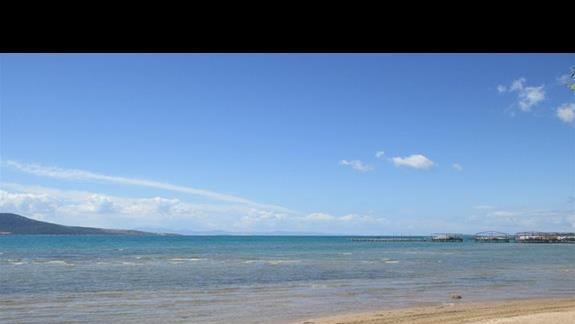 Aurum Spa & Beach Resort plaza i pomosty