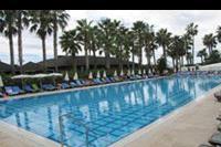 Hotel Meryan - Glówny basen. Najglebiej 1.40m.