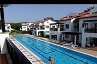 Hotel River Garden - Widok z balkonu - mniejszy basen
