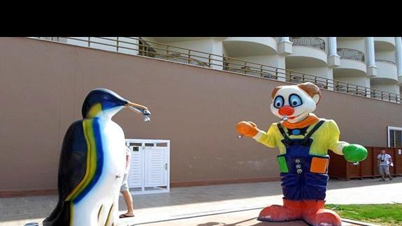 Aquapark prysznice