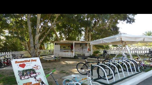 Wypozyczania rowerów w hotelu Aquis Sandy Beach