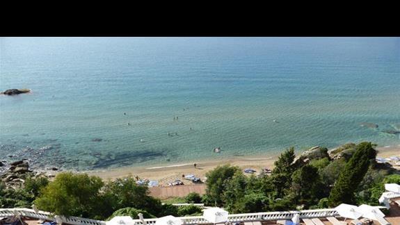 Plaza przy hotelu Aquis Agios Gordios
