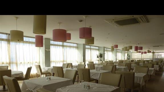 Restauracja w hotelu Aquis Agios Gordios