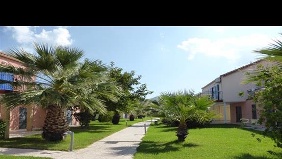 Teren hotelu Cyprotel Almyros
