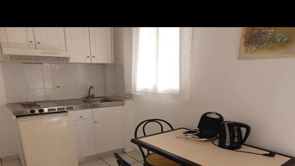 Aneks kuchenny w hotelu Eriva
