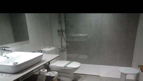 łazienka w suicie  junior