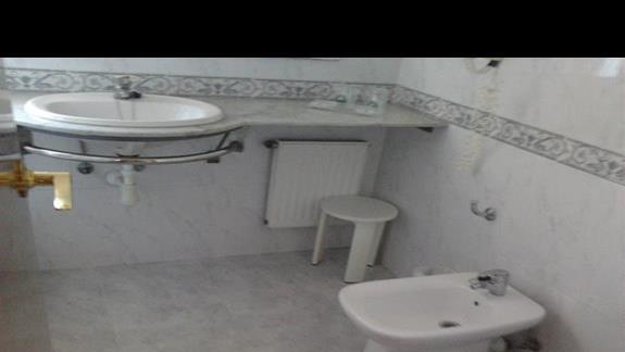 łazienka w suit