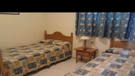 sypialnia w apartamentach