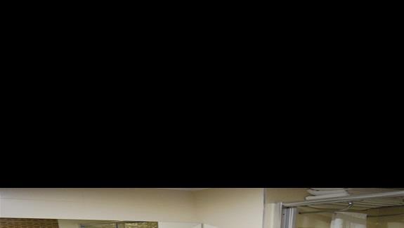 Łazienka w pokoju standardowym w Kirman Belazur Resort