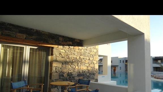 Ostria Beach - pokój przy basenie