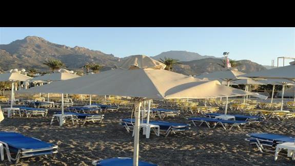 Ostria Beach - plaza
