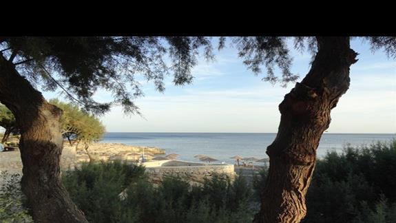 Kakkos Bay - widok na morze