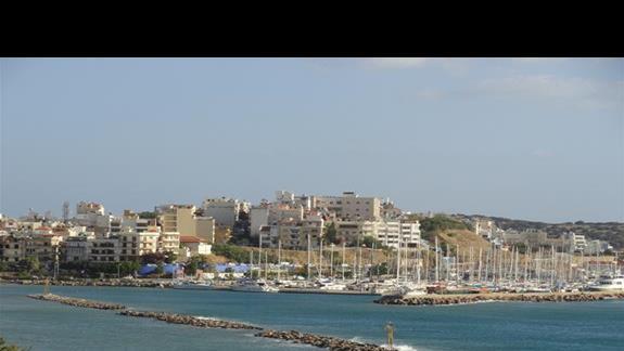 Miramare Resort - widok na Agios NIkolaos