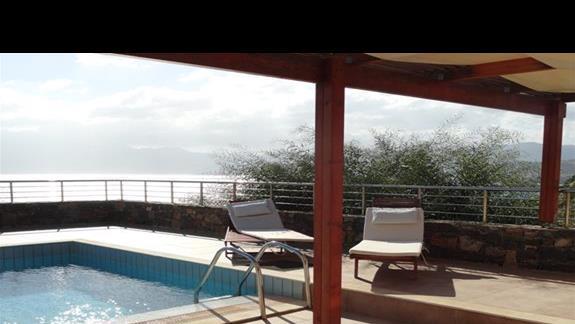 Miramare Resort - prywatny basen w pokoju