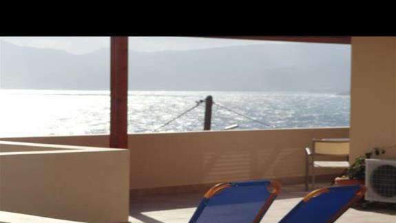 Miramare Resort - taras w pokoju