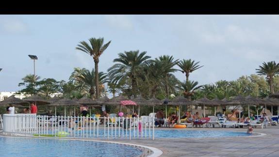 Brodzik Hotelu Sun Club Djerba