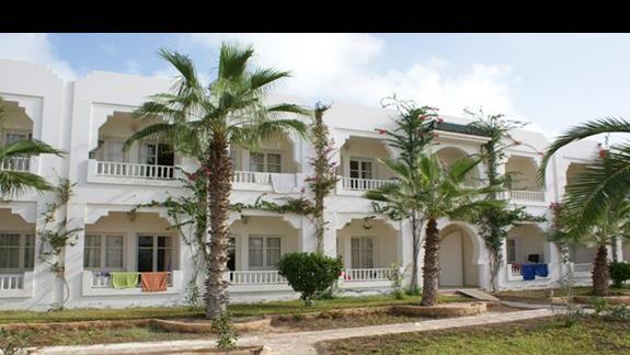 Budynki Hotelu Sun Club Djerba