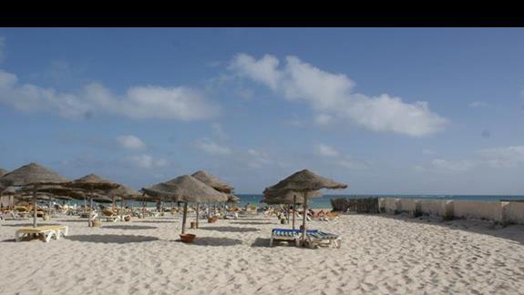 Plaża Hotelu Sn Club Djerba