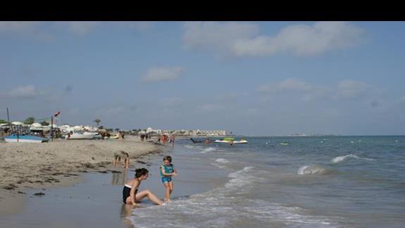 Plaża Hotelu Sun Club Djerba