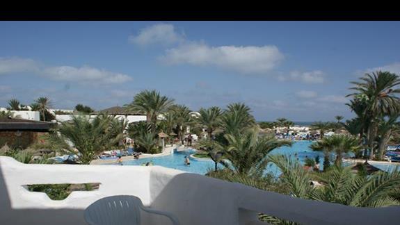 Widok z pokoju Hotelu Fiesta Beach