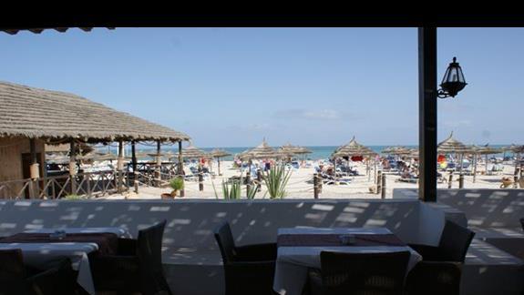 Bar na plaży Hotelu Fiesta Beach