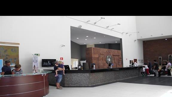 recepcja hotelu Melia Gorriones