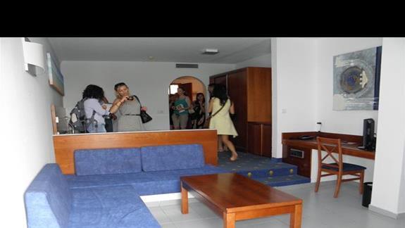 Pokój typu studio przed remontem w hotelu Fuerteventura Playa