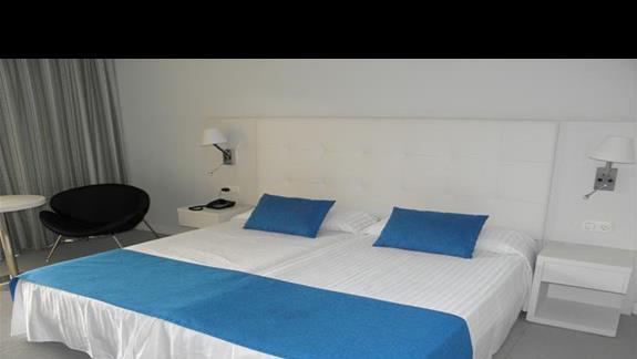 Pokój typu standard po remoncie w hotelu Fuerteventura Playa