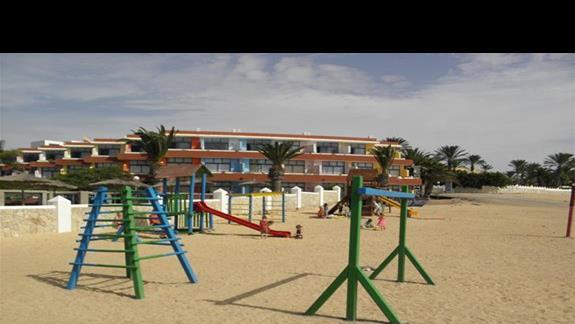 Plac zabaw w hotelu Fuerteventura Playa