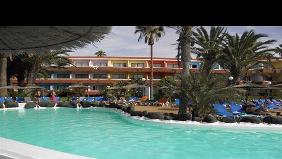 Basen w hotelu Fuerteventura Playa