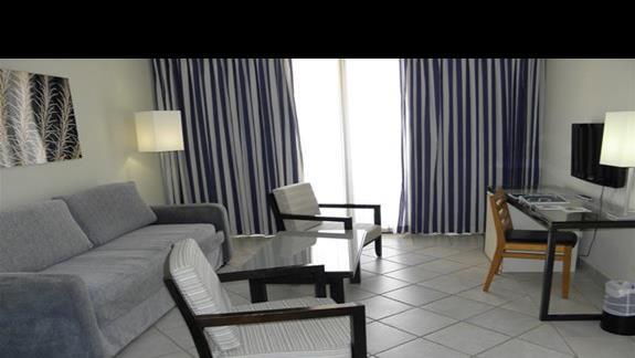 Salon w pokoju rodziinym hotelu H10 Tindaya