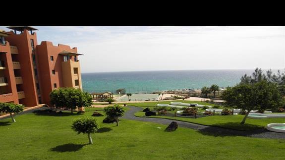 Widok na ocean z pokoju rodziinnego hotelu H10 Tindaya