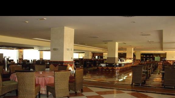 Restauracja główn (jedna z dwóch) Salon w hotelu H10 Tindaya